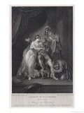 Anthony and Cleopatra, Act IV Scene IV Giclee Print by Charles Warren
