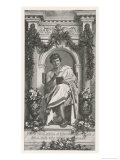 Publius Ovidius Naso Known as Ovid Roman Poet Giclee Print by Von Werner