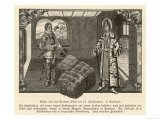 Merchant of Krakow Poland in His Warehouse Giclee Print