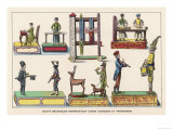 French Mechanical Toys Giclee Print