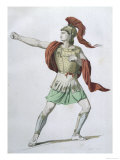 As Presented by Jean Racine in His Play Iphigenie En Aulide Giclee Print