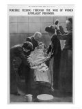 Forcible Feeding Through the Nose of Women Suffragist Prisoners Giclee Print