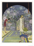 Persephone Down Under Premium Giclee Print by Virginia Frances Sterrett