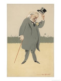 David Lloyd-George British Politician Giclee Print by Bert Thomas