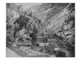 Silver Miners Camp, Nevada Giclee Print