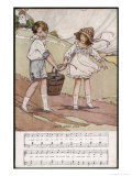 Jack and Jill Went up the Hill Giclee Print by Dorothy Wheeler