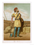 Martin Alonso Pinzon Columbus Partner Commander of the Pinta, Giclee Print