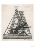 Herschel&#39;s Telescope Reproduction proc&#233;d&#233; gicl&#233;e