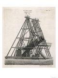 Herschel's Telescope Giclee Print