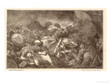 Battle of Marathon Giclee Print by Hermann Vogel