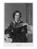 Charlotte Bronte British Author Premium Giclee Print