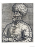 Mehmed II Called Fatih Ottoman Sultan, Considered the True Founder of the Ottoman Empire Giclee Print by Andre Thevet