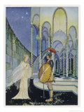 He Tells Ariadne Daughter of Minos King of Crete That Giclee Print by Virginia Frances Sterrett