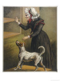 Old Mother Hubbard Went to the Cupboard Giclee Print by Harrison Weir
