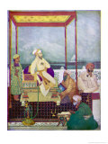 Shah Jahan I Mughal Emperor of India from 1628 to 1658 Known in His Youth as Prince Khurram Giclee Print by Abanindro Nath Tagore