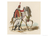 Hussar Wearing a Shako Gicl&#233;e-Druck von Carlo Vernet