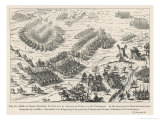 Francois Duc de Guise Defeats the Huguenots at Dreux Giclee Print by Tortorel & Perissin