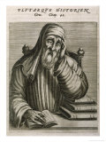 Plutarch Greek Biographer and Historian Giclee Print by Andre Thevet
