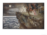 O Tokoyo Sees a Virgin About to be Sacrificed to a Sea- Monster Giclee Print by R. Gordon Smith