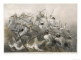 The Repulse of a Sortie During the Siege of Delhi Giclee Print by E. Walker