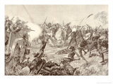 The Battle of Blood River Giclee Print by Richard Caton Woodville