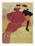 Poster for la Libre Esthetique Brussels Giclee Print by Théo van Rysselberghe