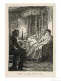 Stephen and Rachel in the Sickroom Giclee Print by Frederick Walker