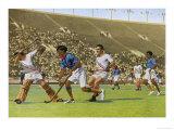 Hockey: India Beats USA by 24 to 1 Giclee Print