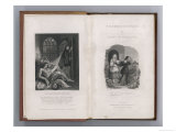 Frankenstein Frontispiece and Title Page to Mary Shelley's Novel Giclee Print
