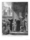 The Release of Prisoners at Carcassonne During the Albigensian War Giclee Print by E. Thomas