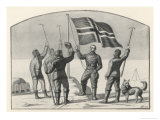 Roald Amundsen the First to Reach the South Pole Did So Giclee Print by Erick Struckmann