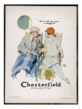 Chesterfield Cigarettes, Mind if I Smoke Reproduction procédé giclée par Joseph Trellor