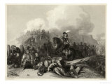 Bristol Prince Rupert Urges His Royalist Forces to Attack the City Giclee Print by J.c. Varrall