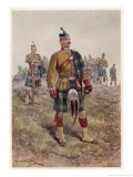 The King's (Liverpool Regiment) 10th (Scottish) Battalion Giclee Print by Richard Caton Woodville