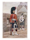 The Black Watch Royal Highlanders Premium Giclee Print by Richard Caton Woodville