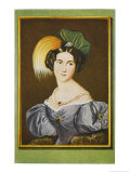 Josephine Theer Wife of the Artist Giclee Print by Robert Theer