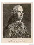 Emperor Josef II Holy Roman Emperor King of Germany Son of Maria Theresia Reproduction procédé giclée par Tischler