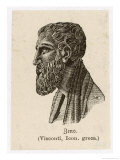 Zenon of Elea Greek Philosopher Giclee Print by L. Visconti