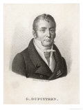 Guillaume Dupuytren French Surgeon and Anatomist Giclee Print by Ambroise Tardieu