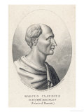 Marcus Claudius Marcellus Roman Military Commander Giclee Print by Ambroise Tardieu