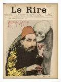 Abdul Hamid II, Ottoman Sultan Giclee Print by Jean Veber