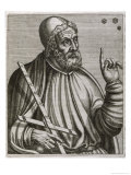 Claudius Ptolemaius Alexandrian Astronomer Mathematician and Geographer Giclee Print by Andre Thevet
