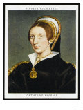 Catherine Howard Fifth Wife of Henry VIII Beheaded in 1542 Premium Giclee Print