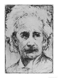 Albert Einstein Scientist Giclee Print by Howard Smith