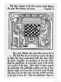 The Philosopher Teaches the King to Rule Through the Allegory of Chess Giclee Print