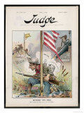 U.S. Soldier Attacked Giclee Print by Eugene Zimmerman