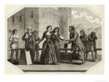 Lady Jane Grey Queen for Nine Days is Beheaded at the Tower of London on Charges of Treason Giclee Print by Asa Coolidge Warren