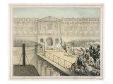 Revolutionaries Attack the Louvre Paris Giclee Print