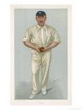 George Hirst Yorkshire Cricketer Giclee-trykk av  Spy (Leslie M. Ward)