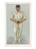 George Hirst Yorkshire Cricketer Giclee Print by  Spy (Leslie M. Ward)